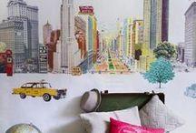 murales de papel pintado - wallcoverings