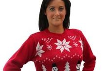♥ Ugly Christmas Sweaters ♥ / Ugly Christmas Sweaters for men, women, children, and maybe even some for pets! Check here for your next sweater to wear to an ugly Christmas sweater party. Plus invitations, knit beanie caps, scarves and more! Everything in the ugly Christmas snowflake design. If you have been invited to an ugly sweater party, you will find what you want right here.