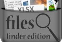 Files-Finder Edition App for iPad  / Files Finder Edition has familiar interface, convenience and usability of Finder, right on your iPad. It is not just an explorer but a complete file/media organization tool along with Documents and Excel editing capabilities.