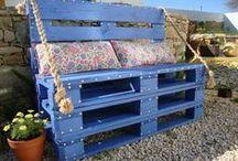 palettes &  caisses en bois