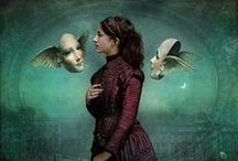 Christian Schloe and Catrin Arno / Wonderful magical realism art created by two of my favourite artists!