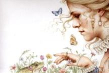 Illustrations / Illustrations are magical things that can make words leap off the page. Some of the illustrators I admire