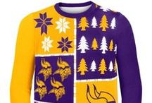 Sports Themed Ugly Christmas Sweaters