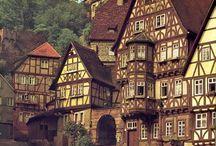 Cittá medievali nella vecchia Europa / Il fascino del passato, soprattutto del Medioevo, nelle cittá e cittadine che ho visitato o che vorrei visitare prossimamente IN EUROPA
