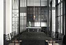 - BLACK - / Au fil du temps, le noir est devenu la couleur de l'élégance et du luxe. Aujourd'hui, utilisé dans le monde de la décoration !