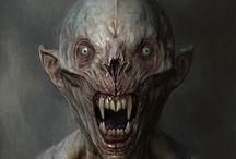 Horror / Dark fantasy creatures