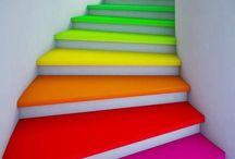 COLORI! / Irresistibili colori! Gioia per gli occhi e per l'anima!  Le palette ( tavolozze) mi aiutano nella scelta cromatica dei miei lavori