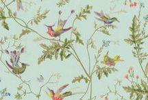 papeles pintados con pájaros - birds wallpaper / paredes llenas de pajaros de distintos colores