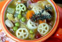 Soupe //minestra //minestrone