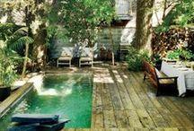 jardines, piscinas y terrazas. - swimmingpools and terraces