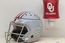 Scentsy: Campus Collection / Hey Sports Fans! Show your team some love with a Campus Collection Warmer.  For each warmer sold, we'll donate a portion of the proceeds to the University to help fund important collegiate programs.