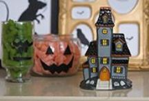 Scentsy: Harvest Collection / Be Festive, Be Frightening  Beware this spooky time of year, when the comfort of home is replaced with tricks, treats and chills of Halloween delight. Bewitch their senses with a bone-rattling brew of menacing moonlight, creepy crawlies, ghastly graveyards and beady black eyes — only our fragrances remain unfrightening.