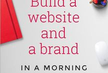 Blogging- building your platform / Website building