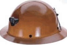 Hard Hats - MSA  / MSA Skullgard Hard Hats with and without mining brackets.