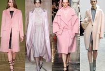 Pink- The Colour for Autumn/Winter 2014 / Pink was all over the catwalks for AW2013 and now AW2014! Pink coats are especially big news. Here are my high street picks.