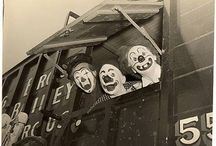Clowns, Circus People, Carnivals, Amusement Parks!〰〰〰〰 / Old Circus Pictures / by ✌️Krissy☀️