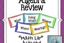 School & Math stuff / by Amy Malone