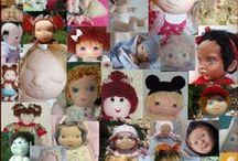 2014 Cloth Doll Challenge / It's Time! -  Join us for the  6th Annual Cloth Baby Doll Challenge! ** New for 2014 ** Tag-On Challenge.... Cloth Children Doll! http://clothdollbabies.com/challenge2014/