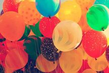 Balloons and Lanterns! / All shapes, sizes.. Bright colors! / by ✌️Krissy☀️