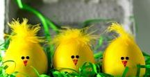 EGGcited for Easter / Find Easter decoration ideas from home decor to easter eggs!