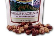 Hazelnuts / Oregon is the single largest producer of hazelnuts in United States, with primary growing regions in our own Yamhill and Willamette valley. Our hazelnuts are prized for their rich flavor and aroma, and are delicious baked in confections, sprinkled on salads or just as a healthy snack! For great hazelnut recipes, visit Oregon Growers' Blog for some delicious creations using these flavorful nuts.