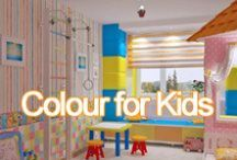 Colour for Kids / Bold bedrooms, cololurful clothes and everything your bright little sparks need!