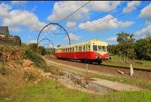 Trains de France / Tous les trains depuis la vapeur jusque aux TGVs