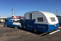 Caravans ... Camping / Vintage and modern