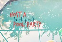 Pool Party / Host a backyard pool party this summer! Your Bonadelle Neighborhoods home is a perfect place to gather with friends and family all summer long.