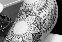 Dotwork tattoo by Joshua van Gellecum