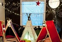 """Indoor Camping Fun / Check out our Indoor Camping board to create the best """"camp out"""" inside your Bonadelle Neighborhoods home."""