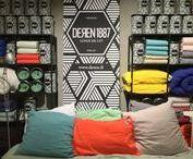 Linge de lit en lin DEREN / Housse de couette / Drap / Taie d'oreiller en pur lin lavé à l'aspect froissé naturel. DEREN peut se prévaloir d'une très ancienne maitrise du lin et du coton. Ils sont d'ailleurs l'une des dernières entreprises françaises de textile indépendantes