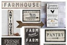 Farmhouse Kitchen / Channel your inner Joanna Gaines from Fixer Upper and find inspiration in these beautiful Farmhouse Kitchen ideas! Maybe its just a couple of tweaks that you make to your Bonadelle Neighborhoods kitchen, but it can transform it into a trendy new cooking space.
