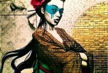 Street art dans le monde / Collection de superbes œuvres éphémères de street art à travers le monde (collage, graffiti, taf, pochoirs ...)