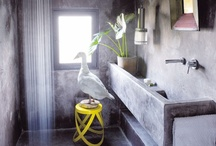 Bathing / Inspiration for our two most lived in rooms - from routine to the remarkable.
