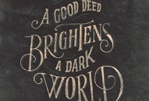 Beautiful things (Art and Font) / by Tyler Cullen
