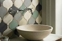 DECOR - BATH AND POWDER ROOM / Bathroom designs and decorative accessories  / by Portraits by NC