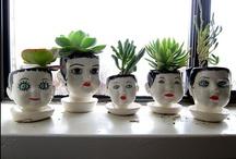 Plants ❦ Garden Ideas w/ Outdoor Decor / by Contesa Evans Garni