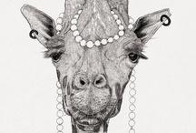 animal illustrations plus art