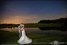 Night Wedding Photography | Aaron Watson Photography / Best night pictures from weddings by Aaron Watson Photography, named one of the best wedding photographers in Charlottesville, Va