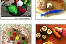 Felt Play Foods / by Kristin Vargas-Nielsen