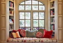 Reading Nook Inspiration / by Ann Moore-Spencer