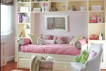DECOR - BEDROOM FOR GIRLS / Decorating ideas for Girl's bedrooms. / by Portraits by NC