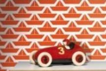 Jolis papiers peints / Idéal pour refaire la déco des murs de la chambre d'enfant, découvrez nos papiers peints, frises enfant...
