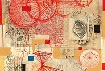 Mix media // Collage papier // Objet Papier