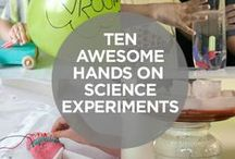 Science Experiments for Kids / Science experiments for ages K-4