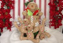 Christmas dolls and decor / ideas for future christmas and decor dolls