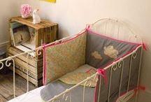 Linge de lit bébé / Gigoteuses, tours de lit ou housses de couette bébé, toute la panoplie du linge de lit enfant est sur Ma Chambramoi