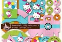 Girls Party Printables