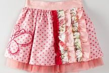 Children's aprons / full and 1/2 aprons for children